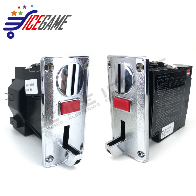 Hot Sale Custom Multi Coin Acceptor For Washing Machine,Dg600F Multi Coin Acceptor,Arcade Coin Validator Acceptor