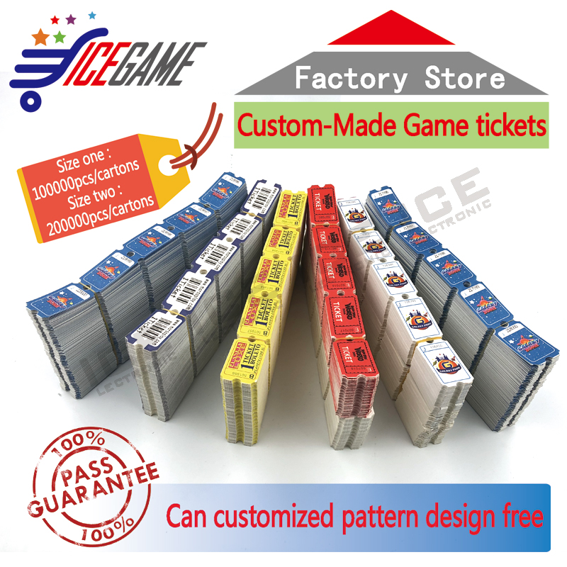 Coin and ticket redemption games Amusement arcade game machine ticket redemption